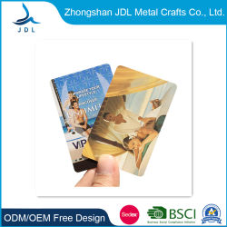 고품질 금속 스탬핑 레이저 골드 비즈니스/VIP 맞춤형 VIP 멤버십, 호텔 키 PVC 플라스틱 카드