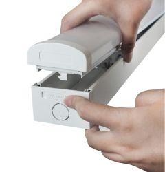 Светодиодный индикатор реек линейного перемещения фитинг 2 футов 4 футов 6 футов газа CCT и регулируемый Dlc свободно распространяемым реек светодиодный индикатор LED свет светильников