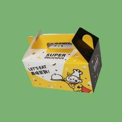 프렌치 프라이드 치킨 스낵 디저트 푸드 박스를 가져가 보세요 딤섬 카튼 종이 포장재 상자