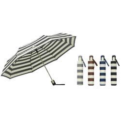 Cheap Auto abierto 3 Promoción de plegado paraguas de colores