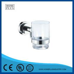 Nuevo diseño de accesorios de baño cromado Copa Porta Cepillo de Dientes Porta vasos