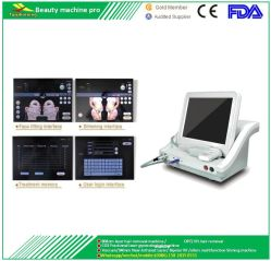 Le Lifting Non-Surgical fréquence radio de serrage de la peau Anti Cellulite corps Hifu Contourage beauté minceur de l'équipement