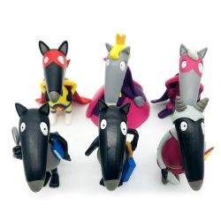 [هيغقوليتي] تمثال صغير يجعل عالة جديات جديد جذّابة رسم متحرّك ثعلب رقم حيوانيّ بلاستيك لعب