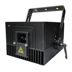 Группа клуба DJ развлечений стадии оборудования 6W RGB анимации лазера