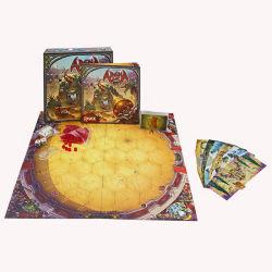 昇進のトランプの印刷の包装ボックスによってセットされるカスタムボードゲームの部分