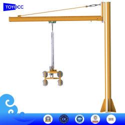 Стекло подъемное оборудование вращающиеся стойки рулевой колонки/Post/гусек кран вакуумный подъемник для ламината/короткого замыкания/закаленного/качания/фасадом из стекла и стеклянной производственной линии