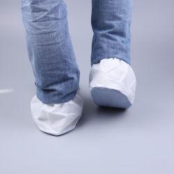 تغطي الأحذية المصنوعة يدويًا المسامية/الرسائل القصيرة/العملاء المحتمل تعرضهم للخطر (PVC) غير منسوجة مع PVC Sole