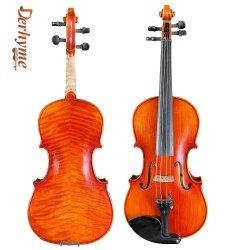 인기 판매 저가 4/4/3/1/8 1/8 1/10 중국식 자체 제작 바이올린 Dy-06-006