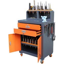 Accesorios CNC de carga de la cena de estante de vástago de carro de herramientas