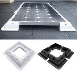 مجموعة دعامات تثبيت اللوحة الشمسية بنظام ABS باللون الأبيض مثالية لنظام RV مركب سقف السيارة المركب