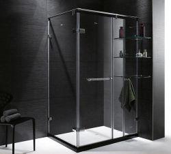 مفصّل رخيصة واضحة زجاجيّة وابل باب غرفة حمّام [شوور رووم] بسيطة