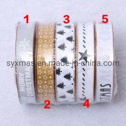 Handmade imprimé de polyester ruban pour Bow Craft fête de mariage DIY Emballage Cadeau Accessoires de décoration