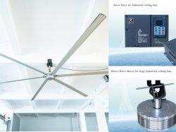 Barato grandes industriais Hvls ventilador de teto para a ventilação do depósito