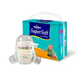 Top Vendendo Super Macio descartáveis Yoursun fraldas para bebé