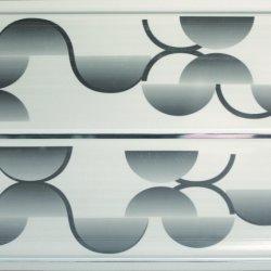 Panel del techo de PVC Imprimir Pintura Color nuevo fabricante chino UV Panel de pared de PVC color madera de color blanco puro
