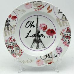 أداة مائدة أنيق باريسيّة خزفيّ فنجان محدّد خزفيّ ولوحات
