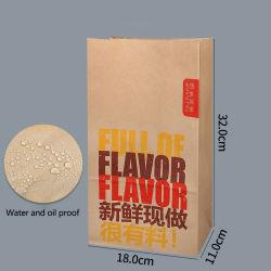 Custom Food Boxes Food Grade Paper Box Food Boxes Takeaway Verpakking Hot Box Food Warmer Hot Dog Frid Chip dozen