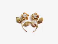 2019 orecchini Pendant delle viti prigioniere degli orecchini della miscela del metallo dell'alberino della Rosa del Fishhook di disegno di modo del commercio all'ingrosso