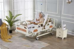 Mehrfaches Funktions-medizinisches justierbares Hauptsorgfalt-automatisches elektrisches Krankenhaus-krankes Bett mit Potty-Loch