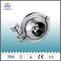 Aço inoxidável sanitárias SS304/SS316L da Válvula de Retenção soldada (DIN-n° RZ1101)