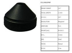 """Megapixel M12x0,5 Conseil lentille Lentille de caméra sténopé lentille optique E. F. L. =2,1 mm Format d'image 1/4"""" pour capteur 1/4"""" industriel Lentille de caméra de sécurité de sport"""