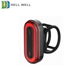 Avertissement de sécurité en montagne Mini LED RECHARGEABLE USB Feu arrière de vélo