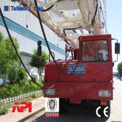 Xj750 Truck-Mounted API de perfuração e Workover Rig com partes separadas
