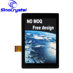 2.4 Zoll LCD-Panel IPS-industrieller Monitor-Bildschirm