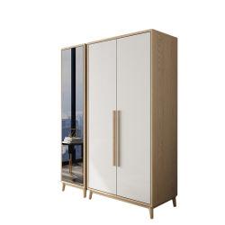 2019 Nieuw Kabinet 2 van de Spiegel MDF van de Deur de Moderne Garderobe van de Zaal van het Bed van de Stijl