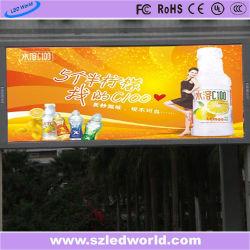 16мм для использования вне помещений фиксированные светодиодный дисплей видео стены на размещение рекламы