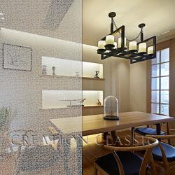 6mm reflektierende dekorative Muster-Glas-/Shower-Glas-Tür