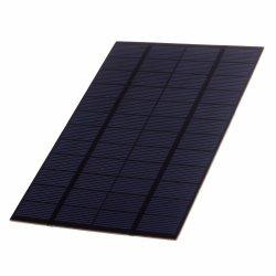 3W 크리스탈 태양 전지판 DC USB 휴대용 이동 전화 편평한 컴퓨터 iPhone iPad 배터리 충전기