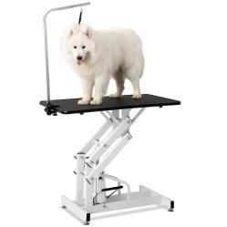 Hydraulischer Berufshundekatze-Haustier-Pflegentisch mit dem justierbaren Arm