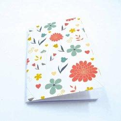 Venta a granel en espiral de tapa dura personalizada al cuadrado de un cuaderno de escritura5 portátiles