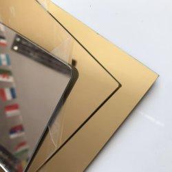 لوحات مرآة ذهبية فضية أكريليك مقاس 1-6 مم