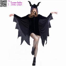 Взрослые Хэллоуин партии Скелетный вампир костюмы L15518 черного цвета