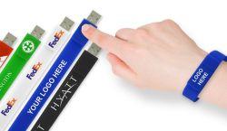 Nova cor diferente para Pulso Promocional Unidade Flash USB, Writband Stick Pen Drive