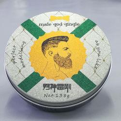 OEM / ODM 138g pommade à base de plantes d'utilisation forte attente Salon professionnel Private Label meilleur sèche Gel Gel de coiffure pour hommes