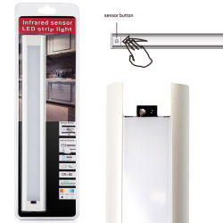 LED Cabinet Light (Infrared on/off sensor-Sweep & Dimmable)