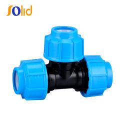 32mm PN16 PP Raccord de compression t égal pour l'Irrigation Pipe à eau