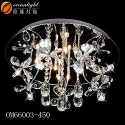 Baratos modernas de techo de cristal en forma de U OM66008 Decorativas Lámparas de techo