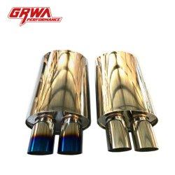 Tubo de automóvel de alta qualidade Grwa chaparia de Titânio Dual tensão do tubo do silenciador