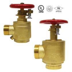 Aprovado pela FM de latão de alta qualidade da válvula de limitação de pressão de proteção contra incêndio