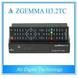 デジタルSoftwares&Hardwares Zgemma H3.2tc衛星またはケーブルの受信機FTAは二重チューナーコアLinux OS E2 DVB-S2+2xdvb-T2/Cの二倍になる