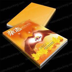 Color personalizado revista impresa Folleto Libro impresión offset.