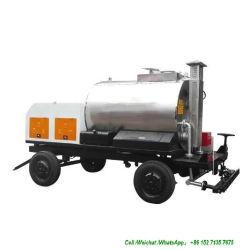 De Vrachtwagen van de Aanhangwagen van de Verdeler van het asfalt met de Bespuitende Pijpen van het Bitumen (de Tank van het Asfalt Dolly Aanhangwagens Volledige Geïsoleerdee 1000L -4000L, het Bitumen van de Nevel 2 -5 meters)