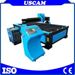 Plasma CNC mesa de corte com preço acessível para venda de tipo de tabela chama CNC máquina de corte