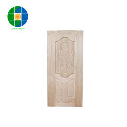 Molde de melamina pele porta MDF/HDF Oak Molde Peles de porta