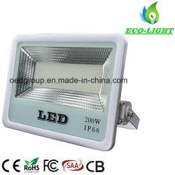 Fabrieksmatige, waterbestendige, energiezuinige SMD LED-schijnwerper voor buiten van 200 W. Licht