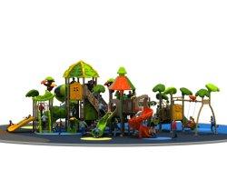 Los niños de plástico nuevo patio de recreo al aire libre de la fábrica para la venta con descuento (YL-L171)